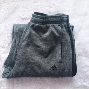 💘Men's Adidas Grey & Black Sweatpants | L